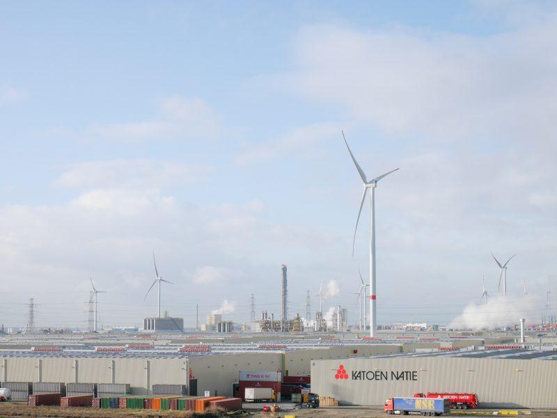 Windpark Katoen Natie