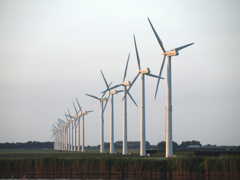 Wind Farm Groetpolder