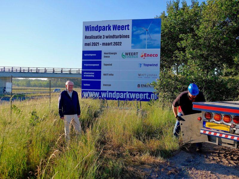 Windfarm Weert